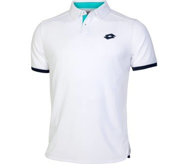 Lotto Aydex IV Hommes Polo tennis blanc