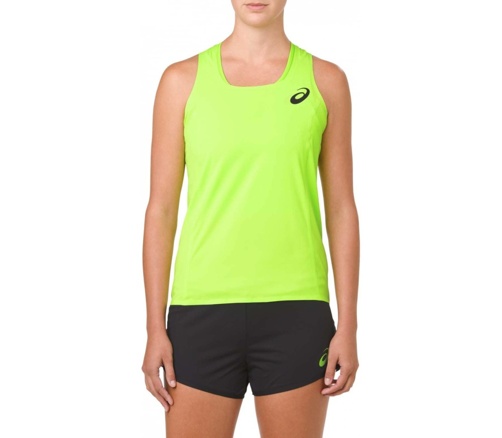 ee0c8fe02972d ASICS - Singlet women s tennis tank top top (green) - buy it at the ...