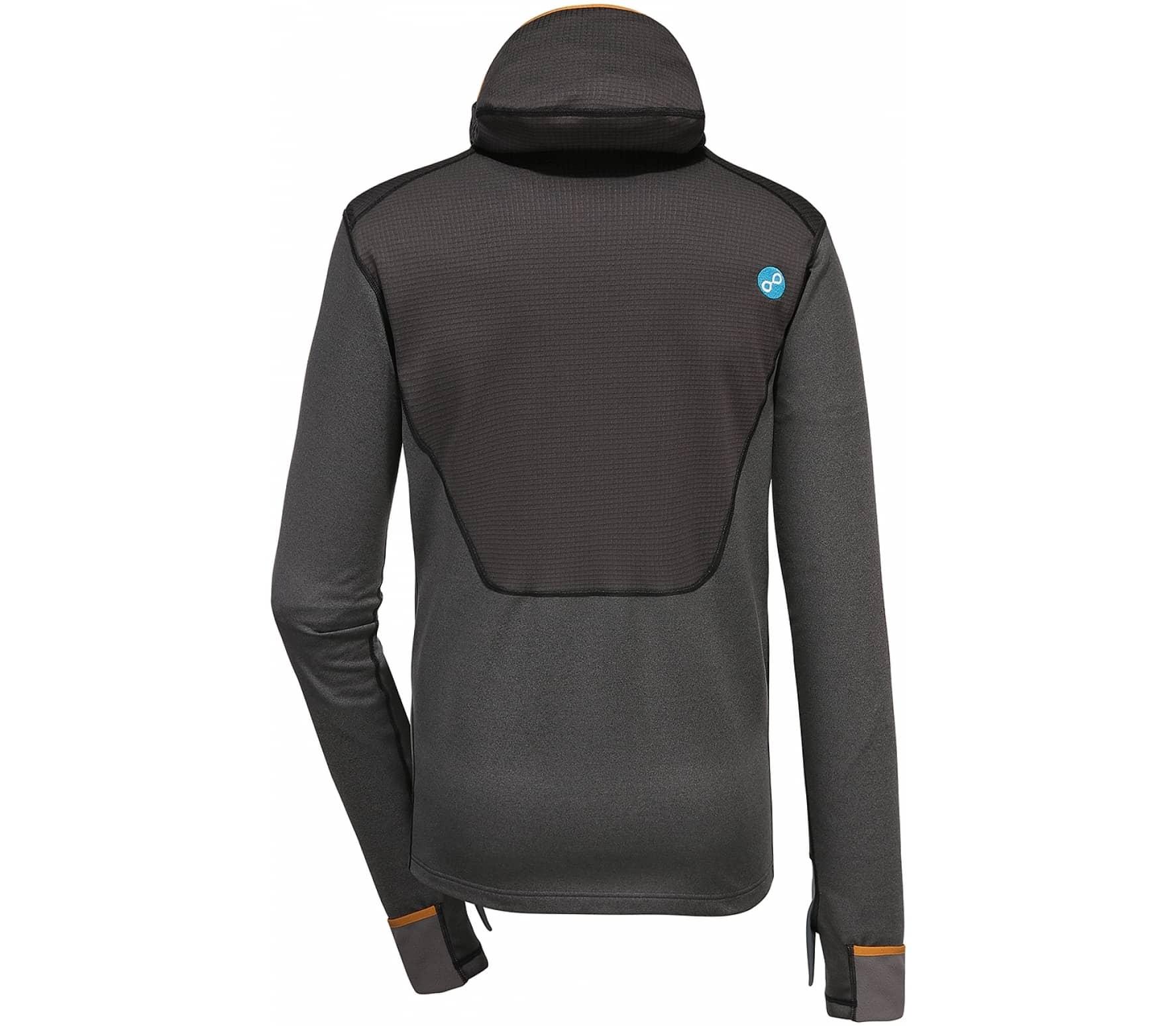 Pyua Dive-YHooded Fleece Pullover Herren silber