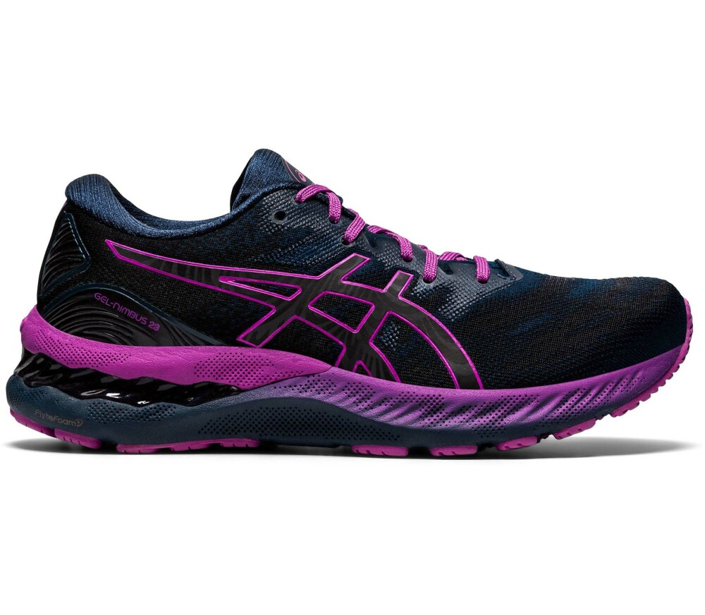 ASICS GEL-Nimbus 23 Lite-Show Women Running Shoes (French Blue / Lite-Show) 189,90 €