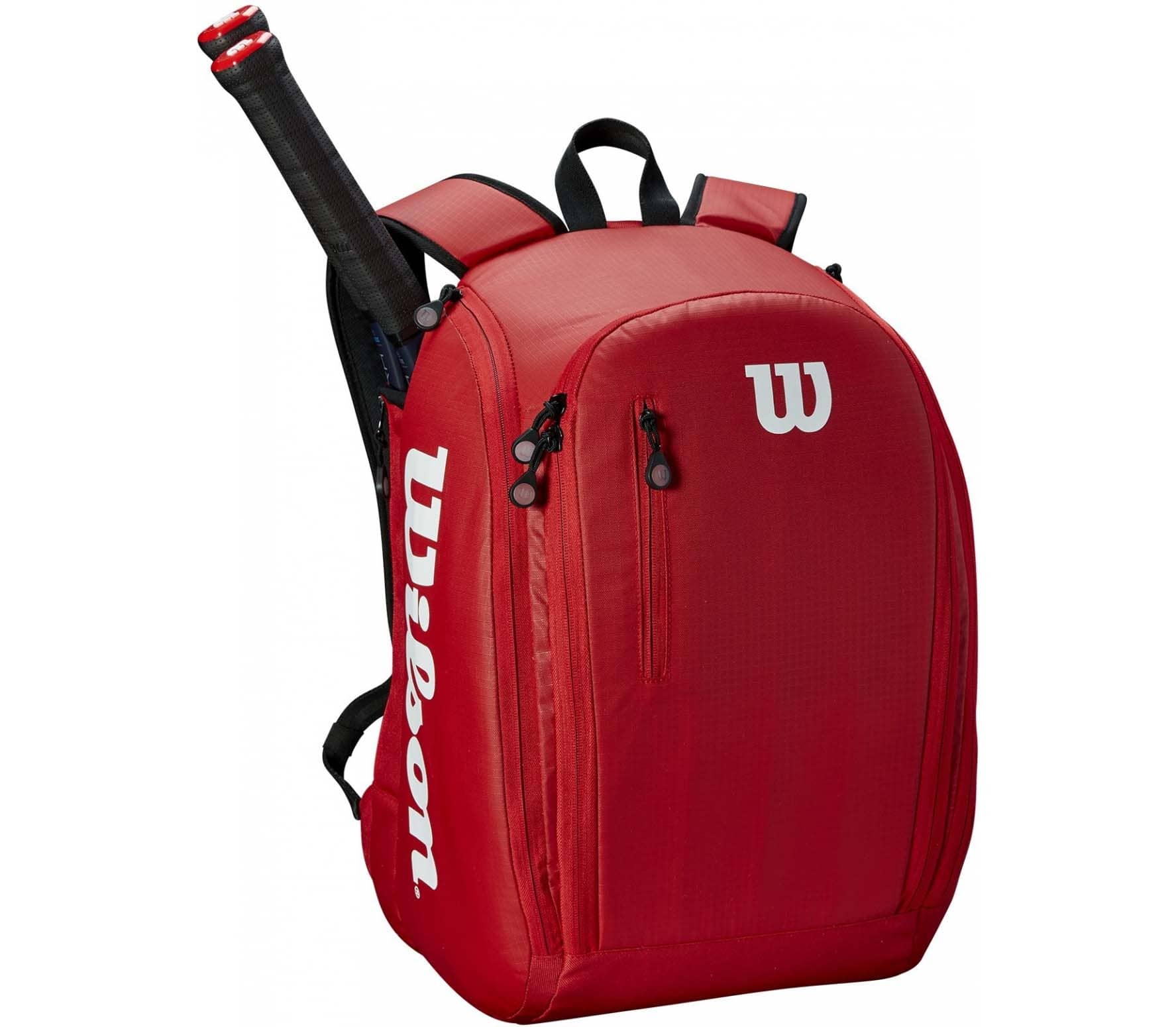 4f728f2993 Wilson - Tour backpack tennis bag (red) - buy it at the Keller ...
