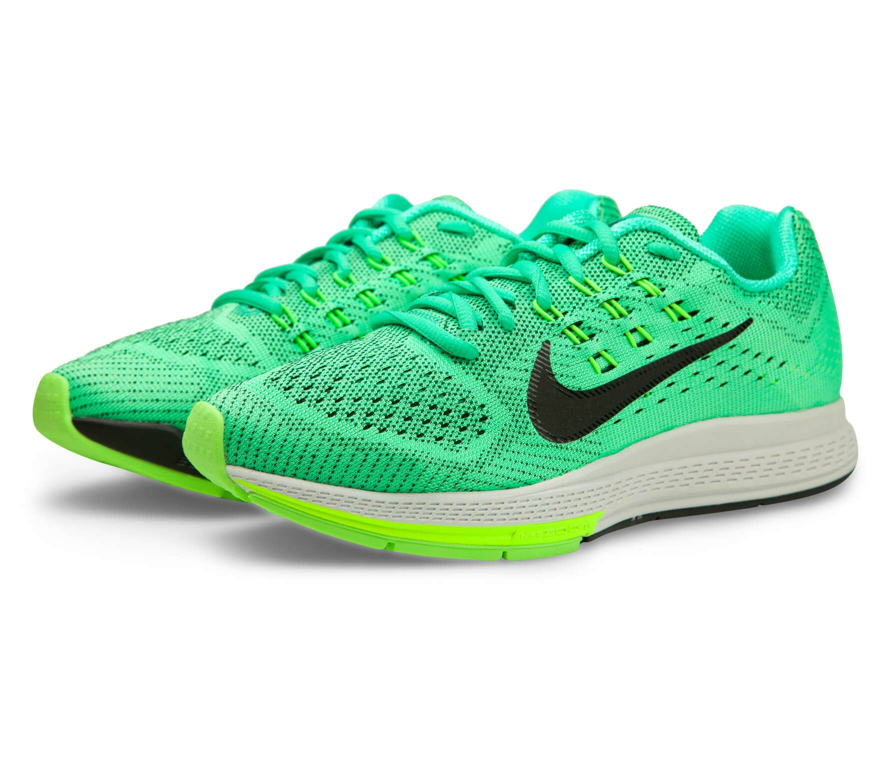 buy popular cbbc1 e4fdc Nike - Air Zoom Structure 18 women s running shoes (green black)