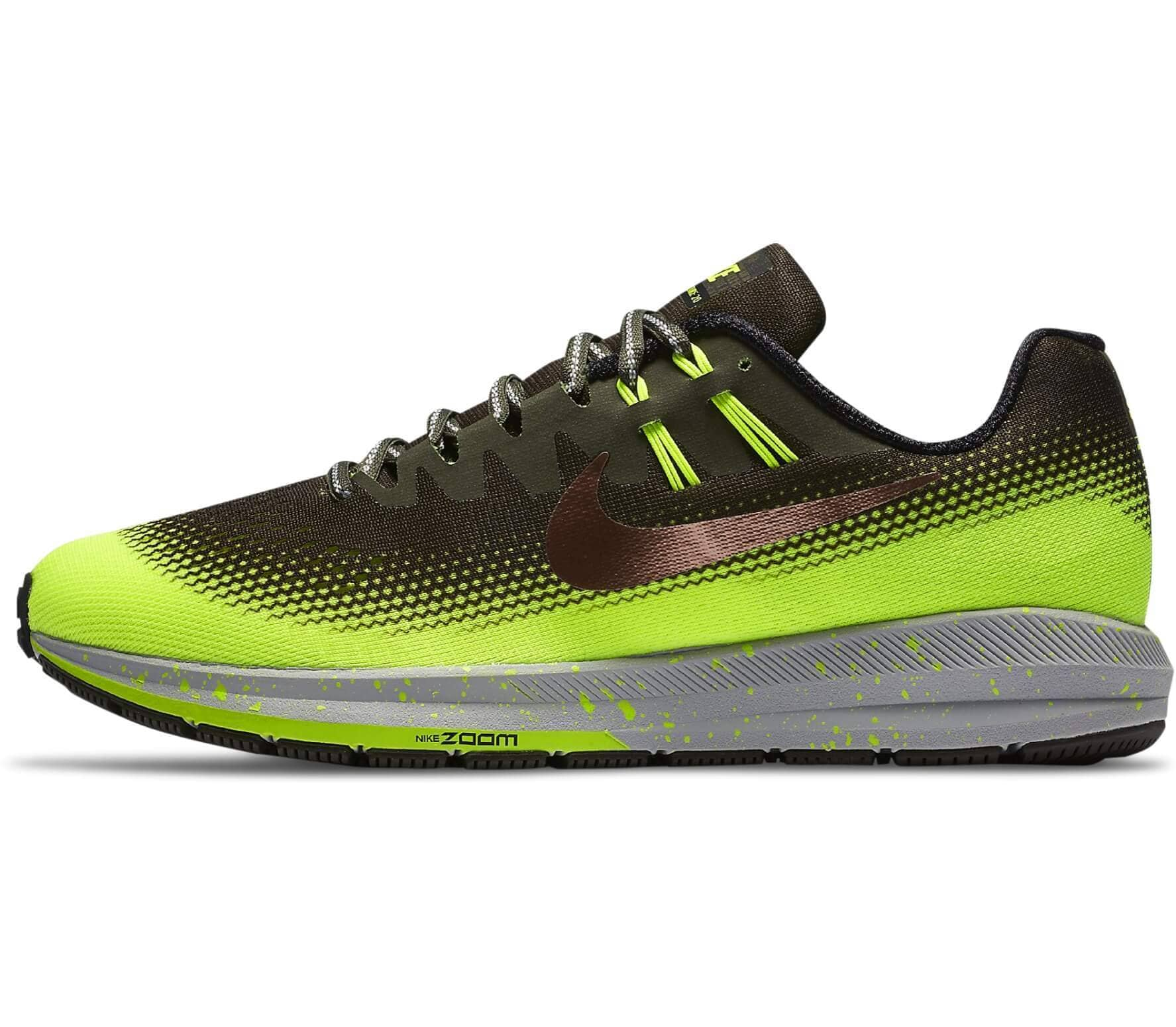 detailed look detailed images new product Nike Air Zoom Structure 20 Shield men's running shoes Men