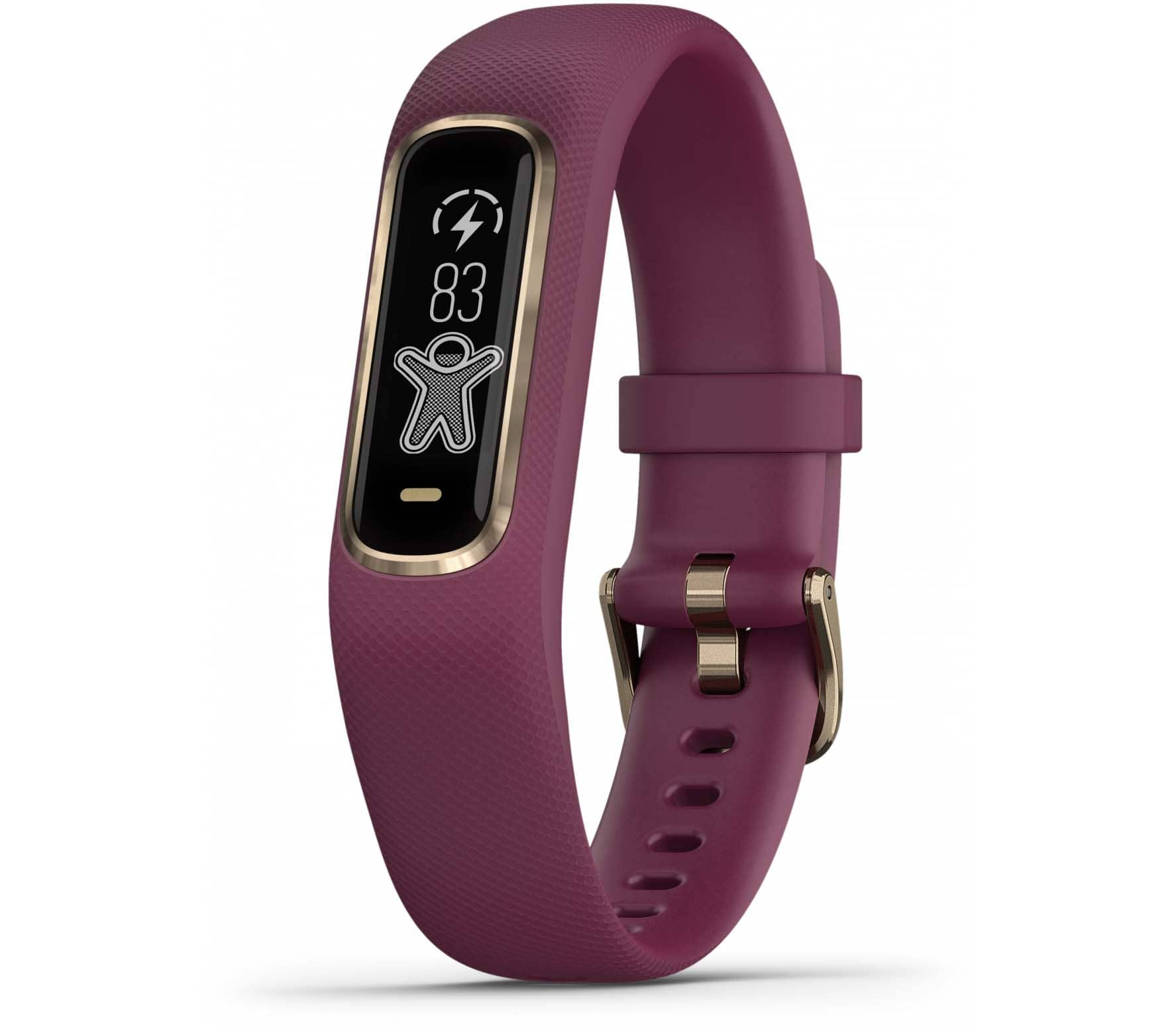 Garmin - vivosmart 4 Fitness bracelet (red)