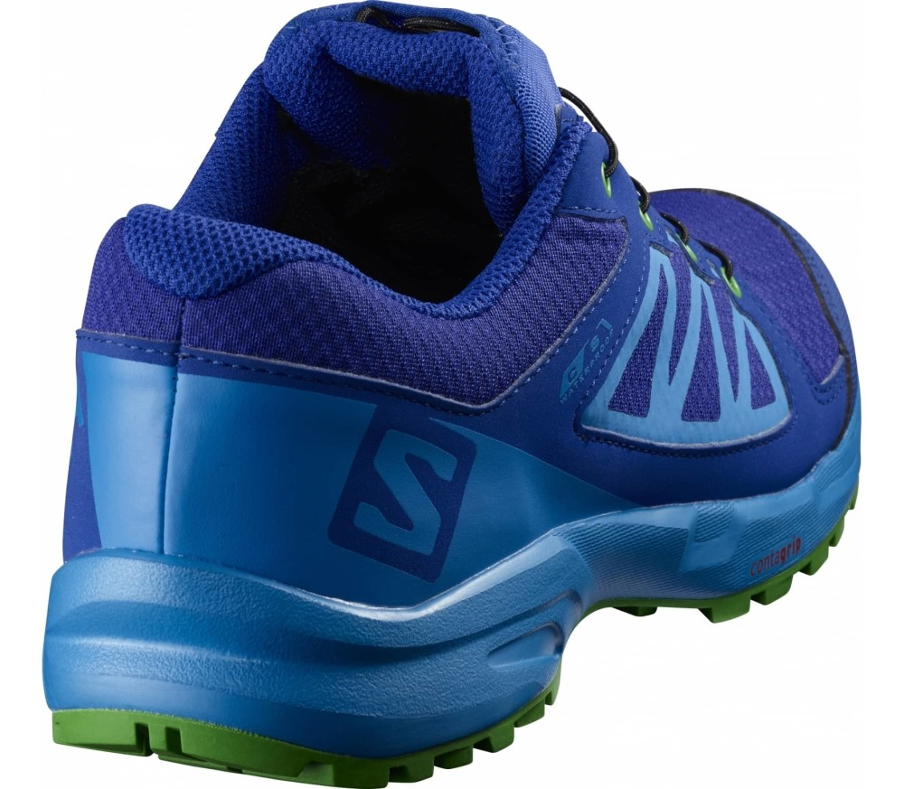 Salomon - Xa Elevate Cswp Junior Laufschuh (blau/grün)