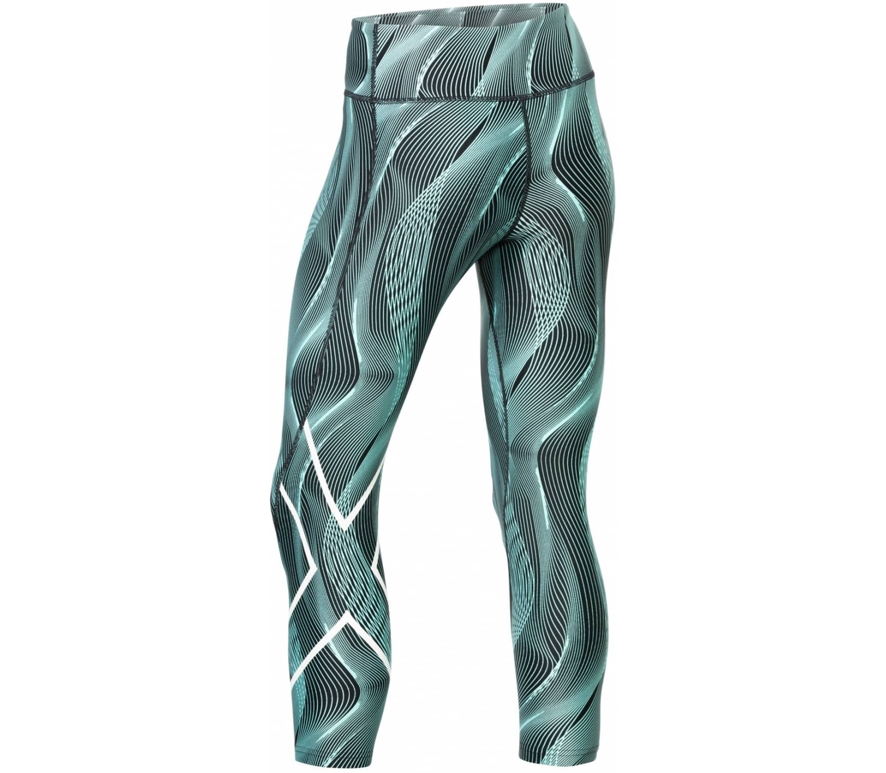978a19d1 2XU - Print Mid-Rise Compression Tights 7/8 with Storage women's running  pants