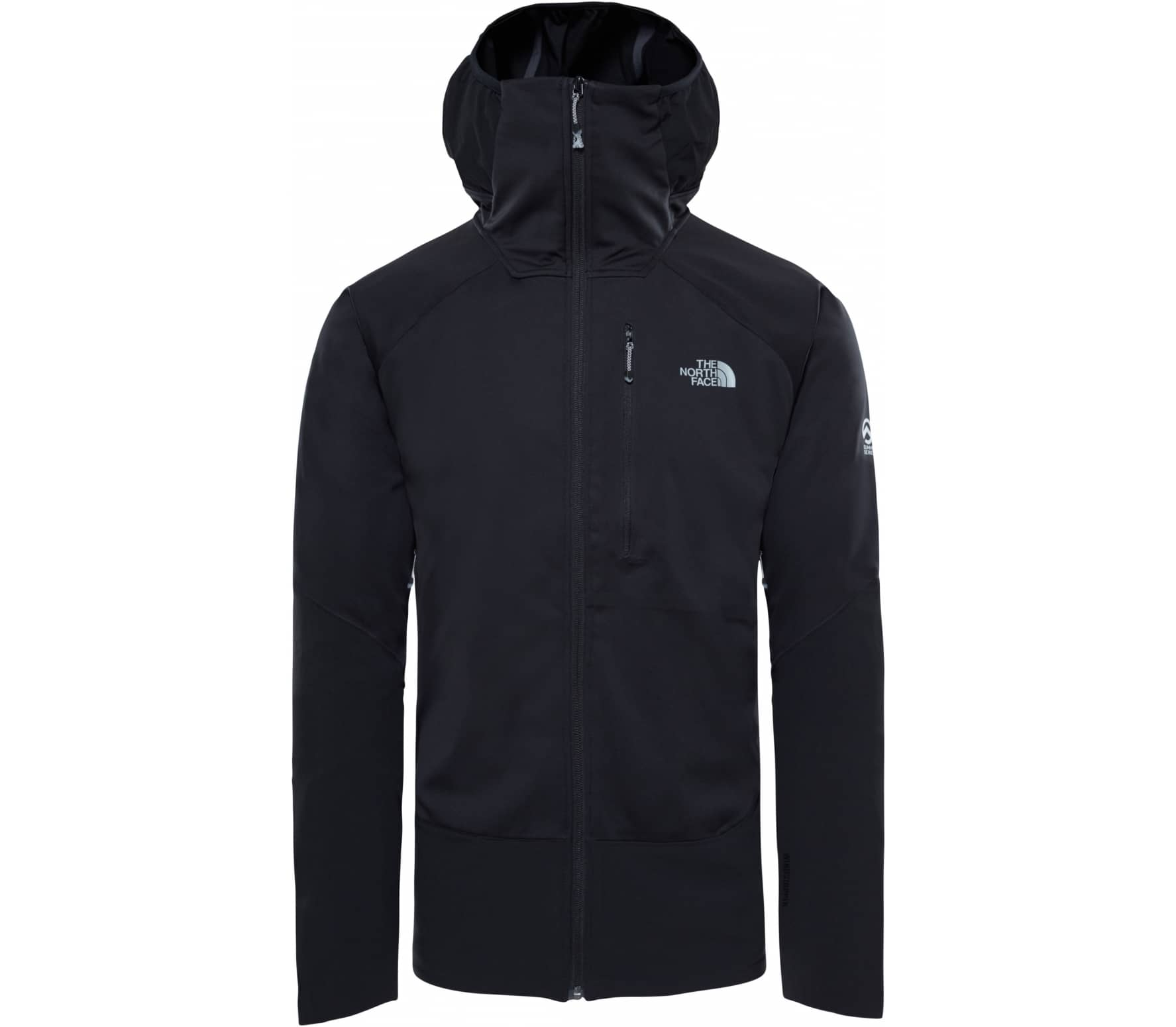 63fae0be ... inexpensive the north face summit l4 windstopper mens outdoor jacket  black black 8cfe4 669a1