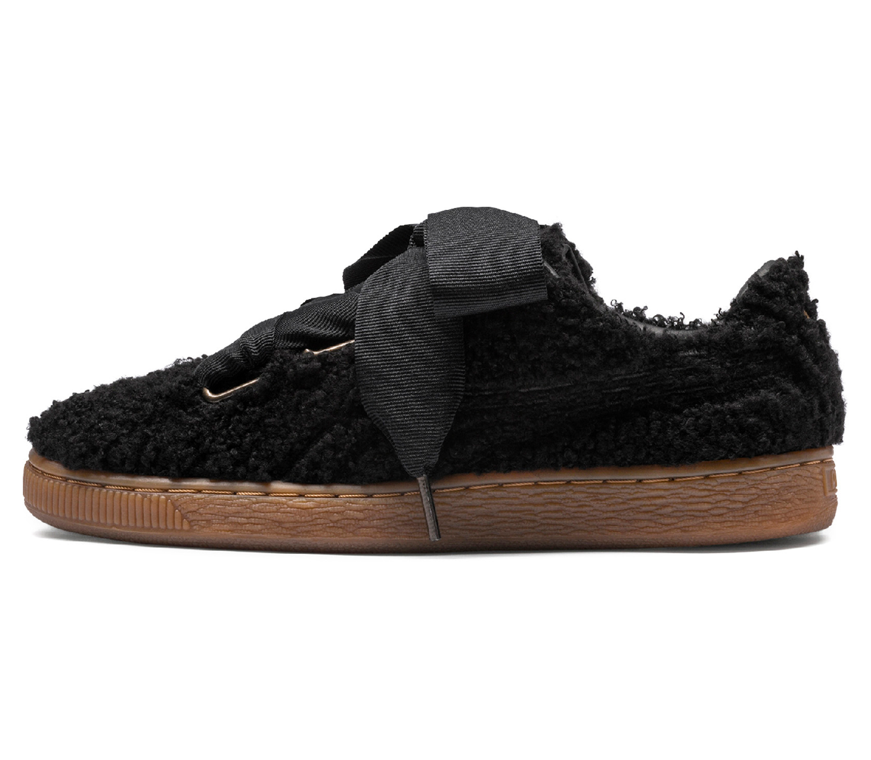 2e710c8d70b Puma Basket Heart Teddy women s trainers (black) online kaufen ...
