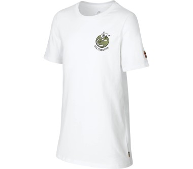 Nike Court Junior Tennisshirt Enfants blanc