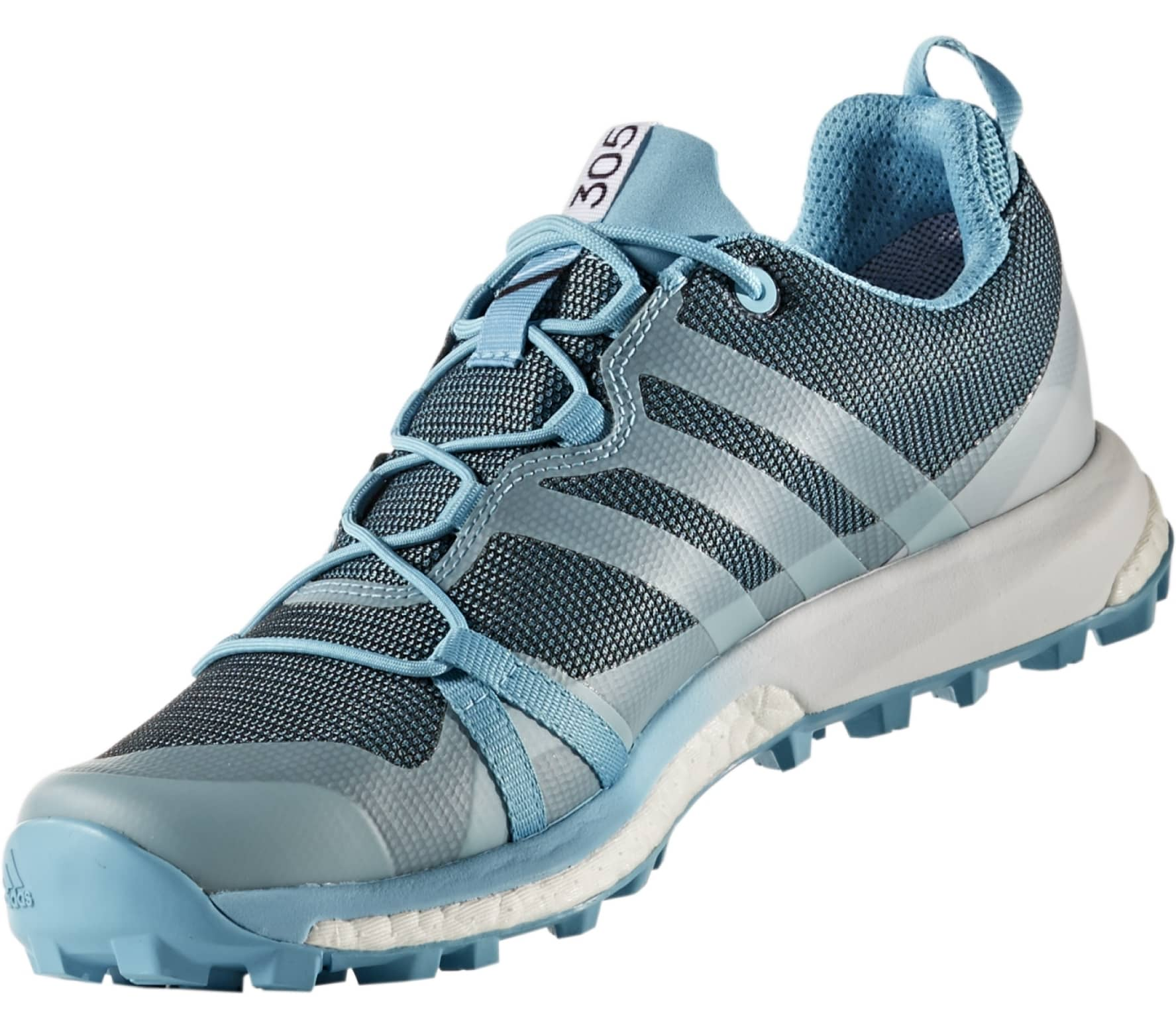 newest 95dca 3bf08 Adidas - Terrex Agravic GTX womens trail running shoes (bluewhite)