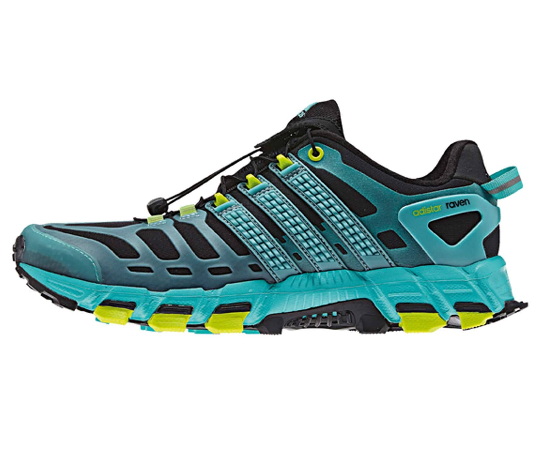 buy online 06e1b eab70 Adidas - Adistar Raven 3 Mujer Zapatos para correr (negromint)