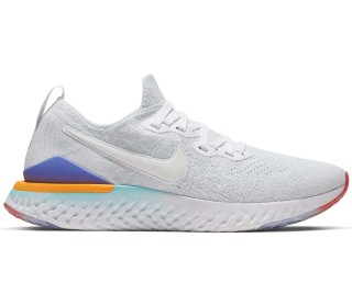 new product a679f 144d2 Nike - Epic React Flyknit 2 Damen Laufschuh (weiß)