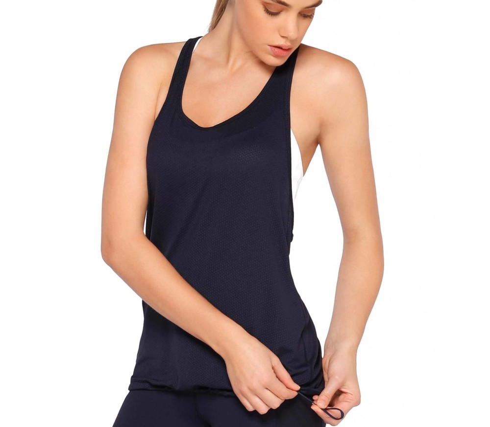 Lorna Jane - Free Style Excel women's training tank top top (blue)