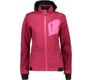 Magenta Women Softshell Jacket