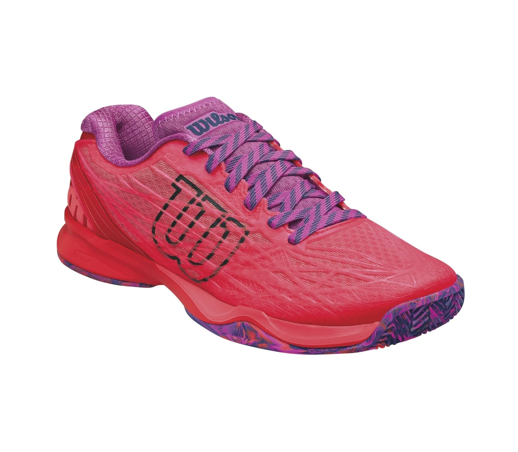 Wilson - Kaos Clay Court women s tennis shoes (red pink) - buy it at ... 85703e9a0209b