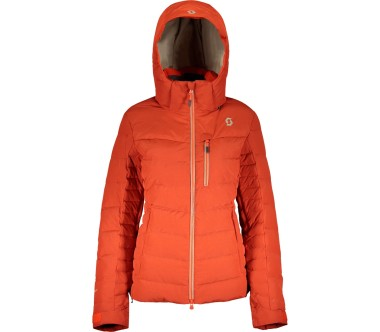 Scott Jacket Ultimate Down Dames rood