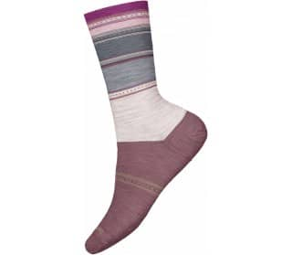 Sulawesi Stripe Crew Femmes Chaussettes