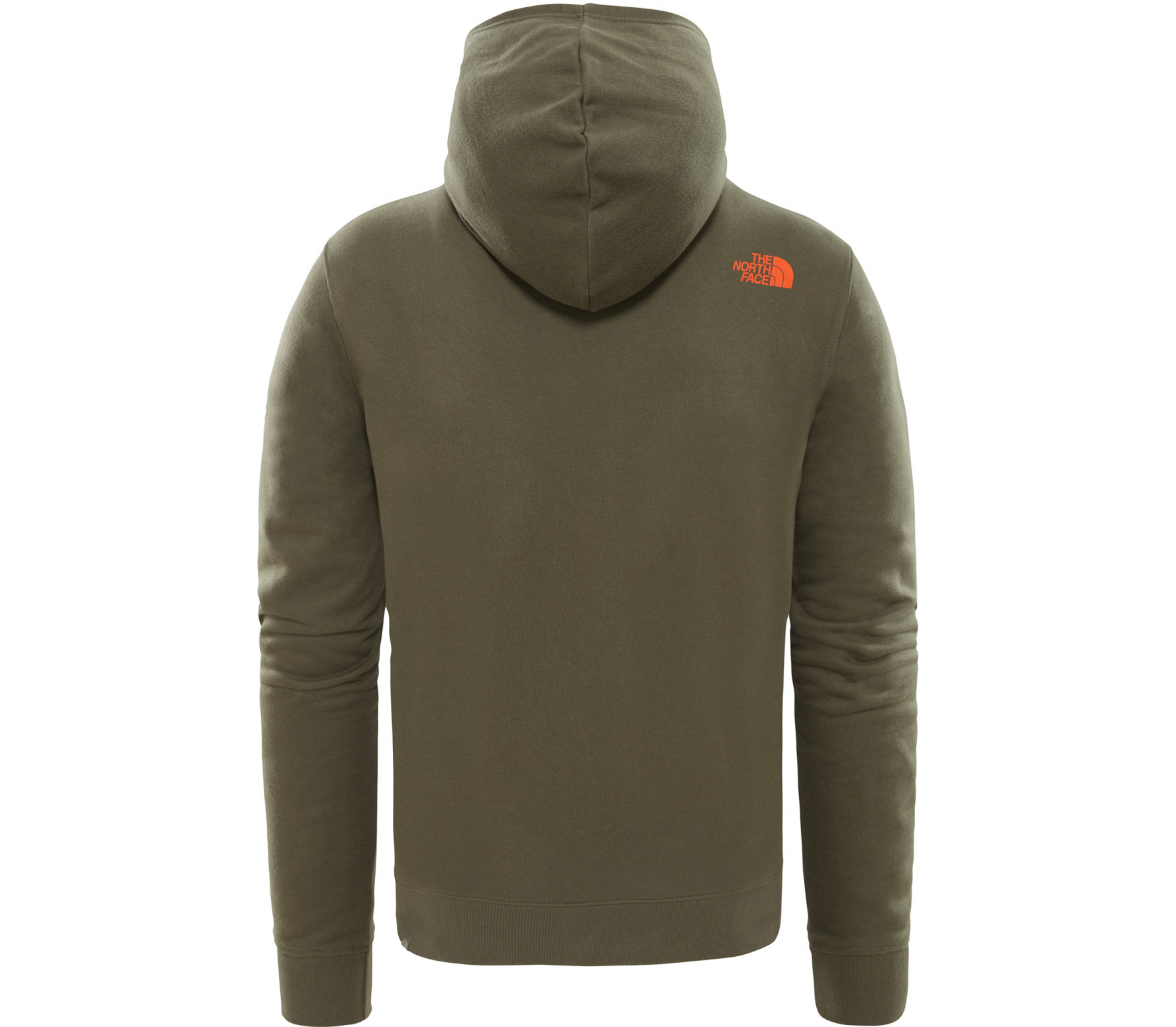 04f74236d8b7 The North Face - Open Gate Herren Hoodie (grün) im Online Shop ...