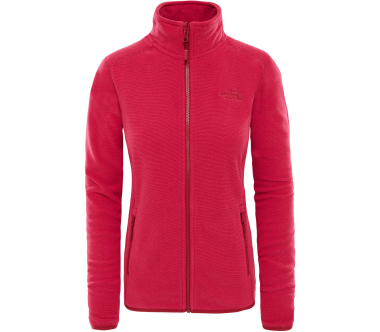 The North Face - 100 Glacier Full Zip Damen Fleecejacke (rot)