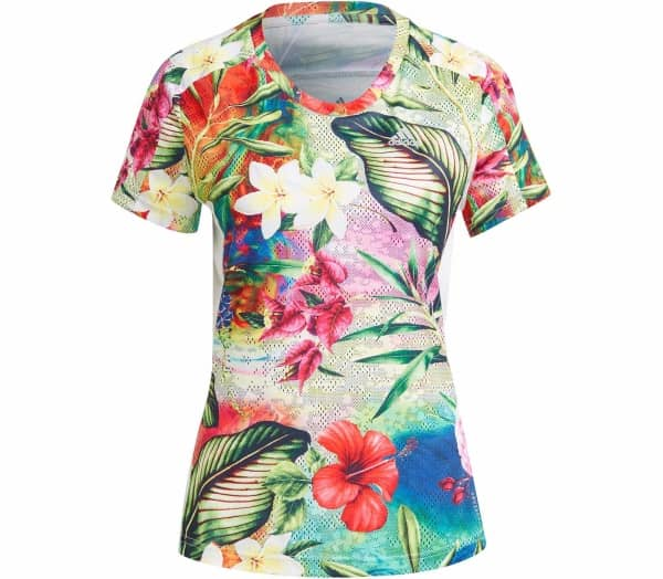 ADIDAS Floral Women Running-Top - 1