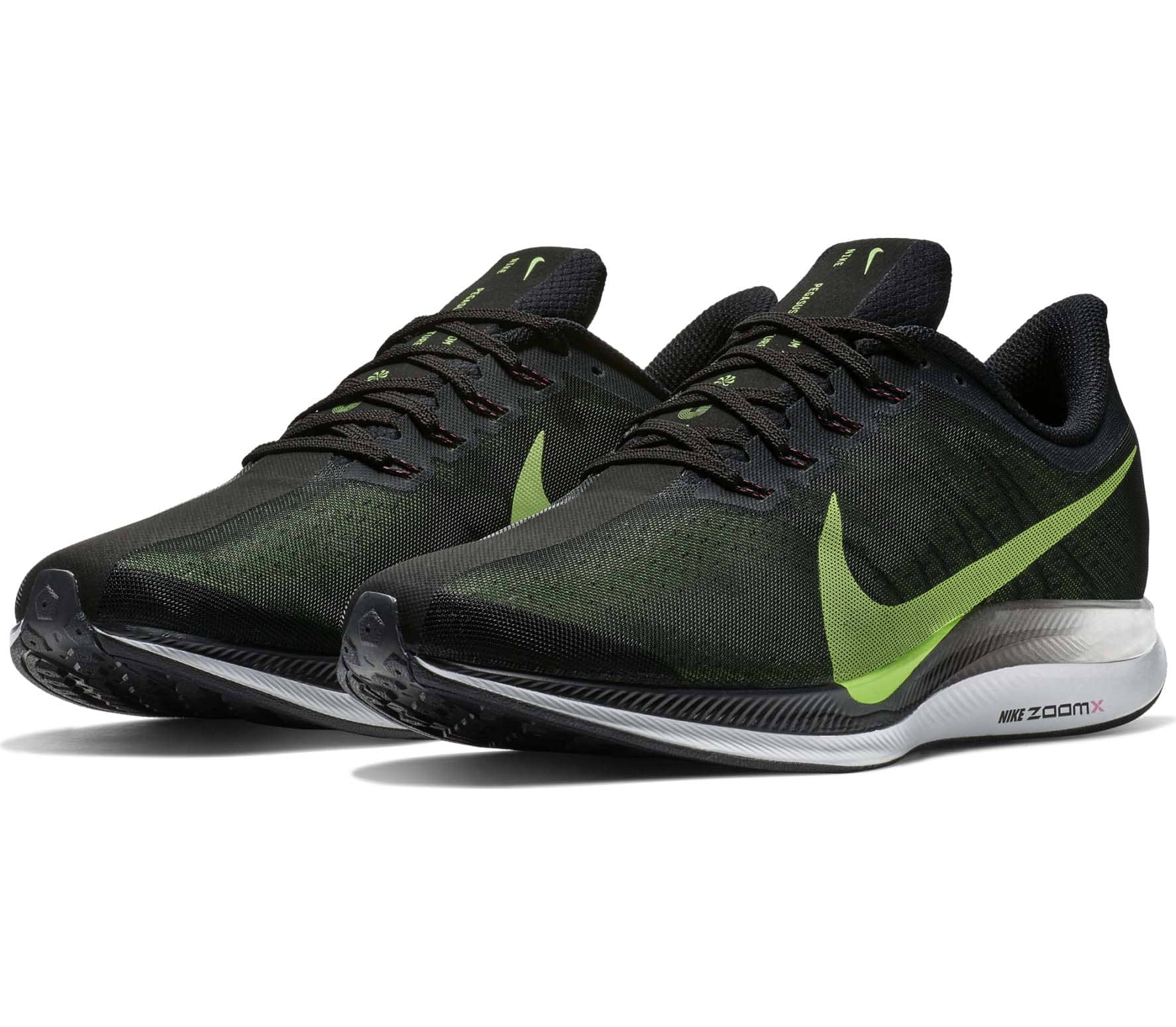 new styles 1f60c 81a2a Nike Zoom Pegasus Turbo Men Running Shoes black