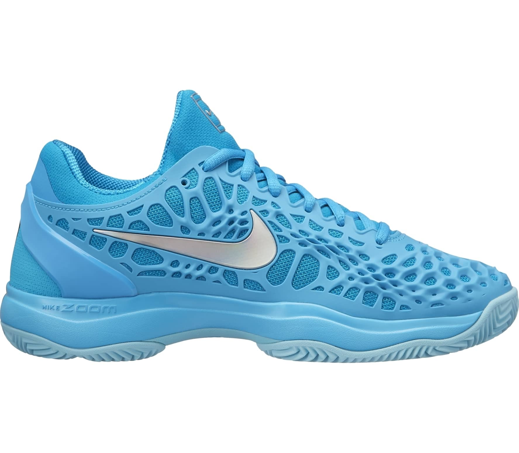 new style 23750 e13f2 Nike - Zoom Cage 3 Clay Femmes Chaussure de tennis (bleu clair)