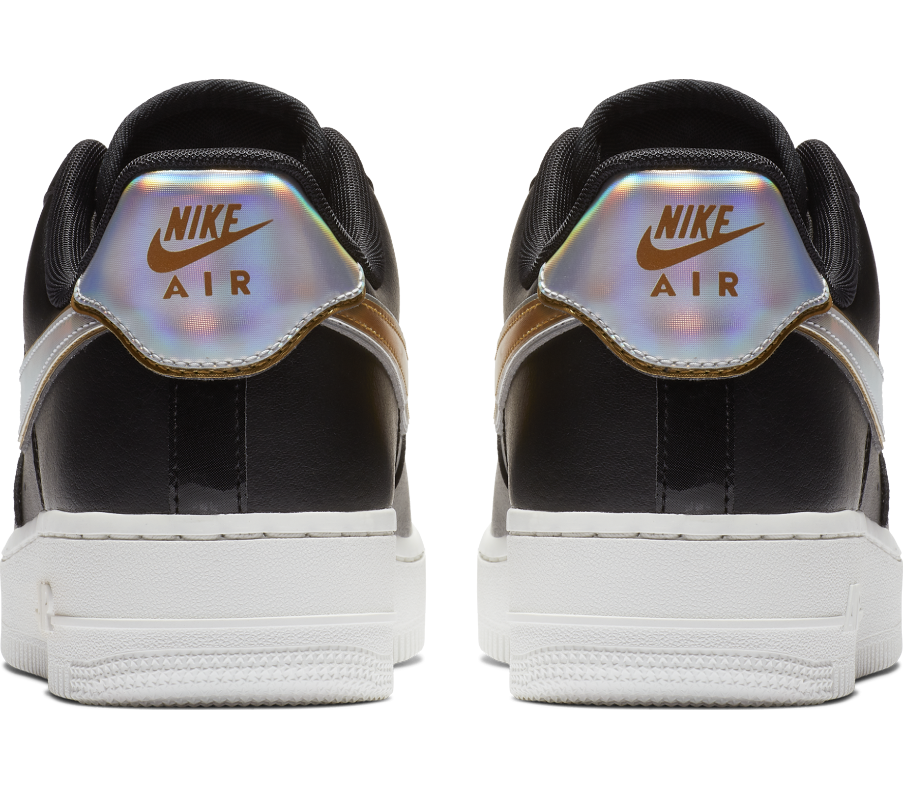 Nike Sportswear Air Force 1 '07 Metallic Damen Sneaker schwarz