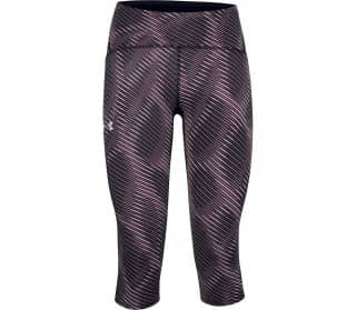 Under Armour Fly Fast Printed Speed Damen 3/4 Hose
