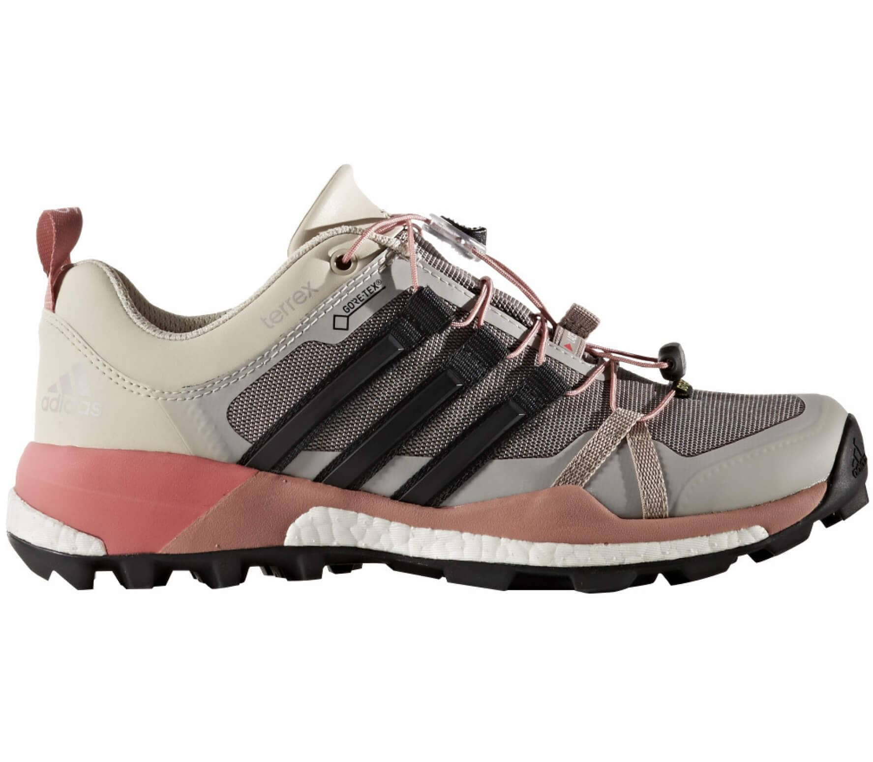 683152f0425a Adidas - Terrex Skychaser GTX women s hiking shoes (grey pink) - buy ...