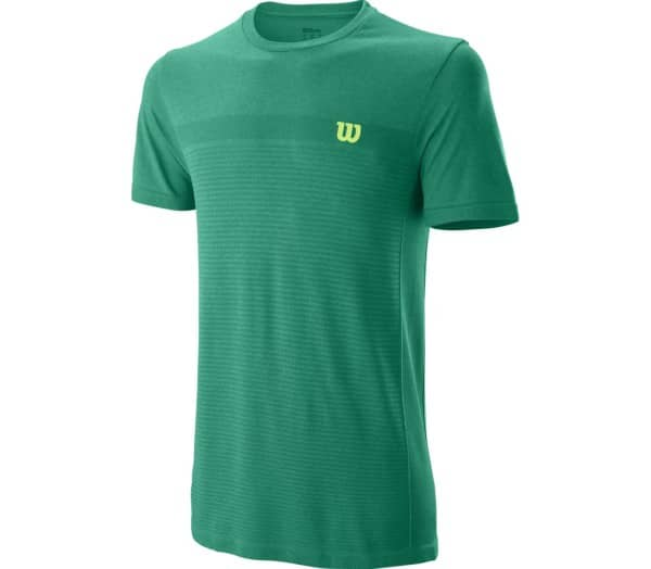 WILSON Competition Seamless Crew Men Tennis Top - 1