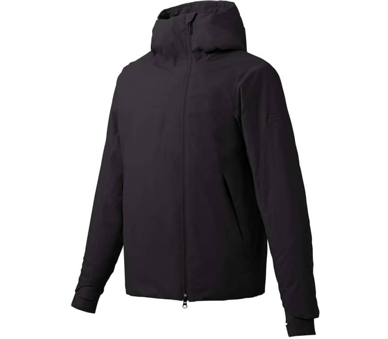 Perforated Insulation Hooded Herren Windbreaker