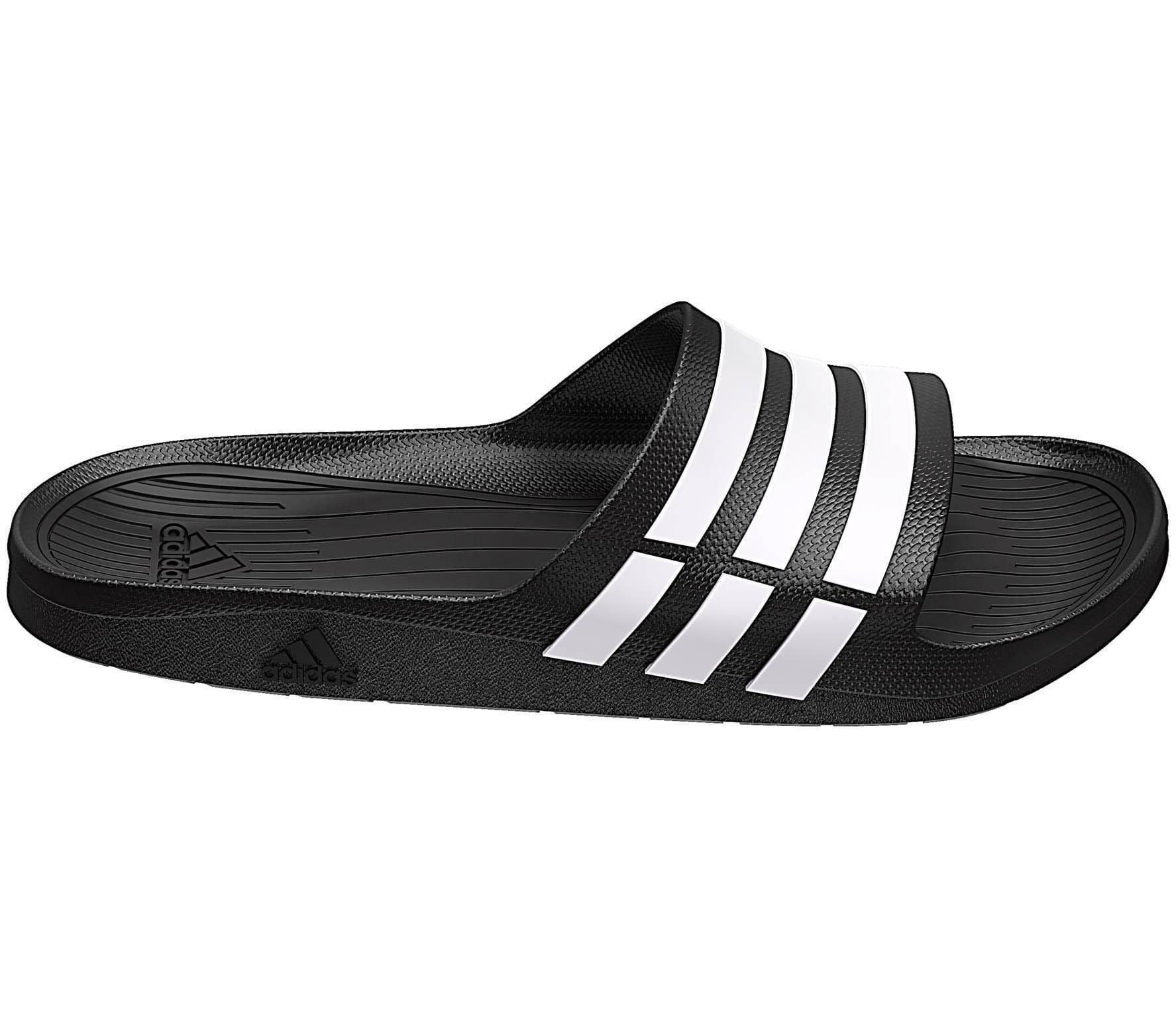Adidas - Duramo Slide men's slides (black/white)