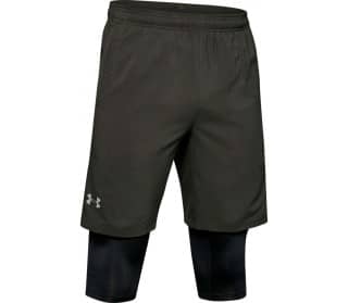 Launch 2in1 Herren Laufshorts