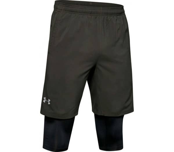 UNDER ARMOUR Launch 2in1 Herr Löparshorts - 1