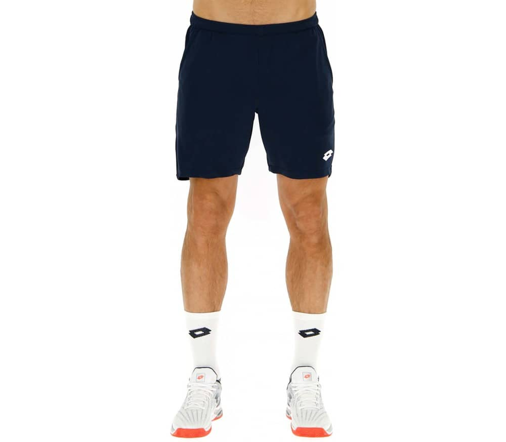 Lotto Squadra 7 Inch Men Tennis Shorts blue