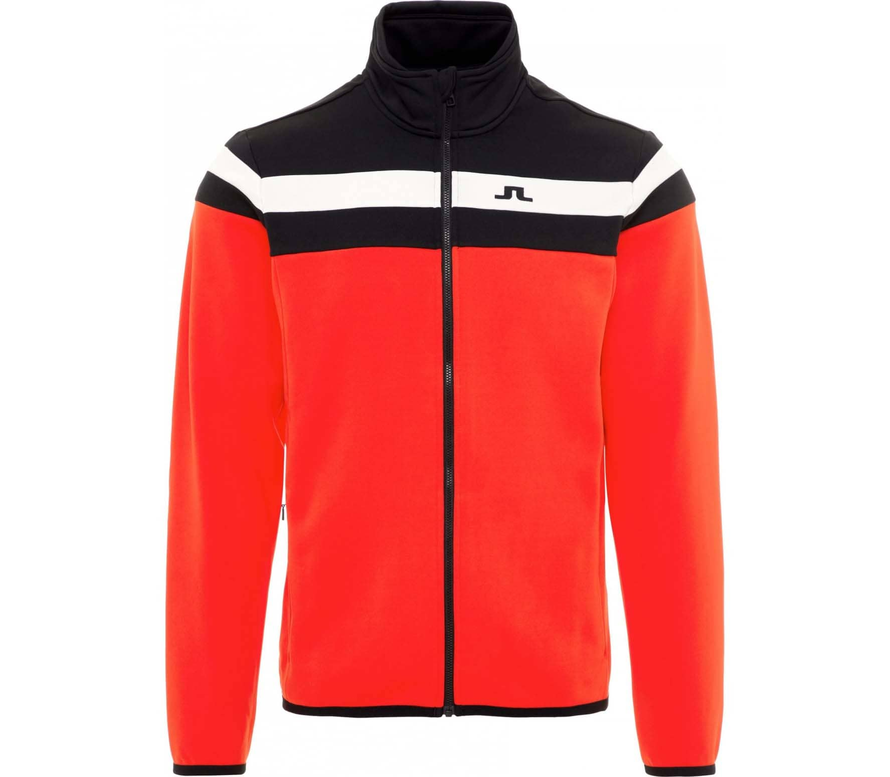 J.Lindeberg - Moffit Mid Tech Jersey men's jacket (red)