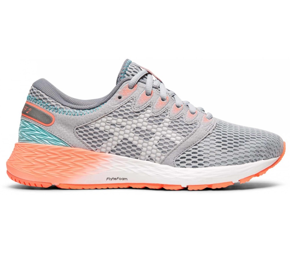 ASICS Roadhawk Ff 2 Women Running Shoes  grey