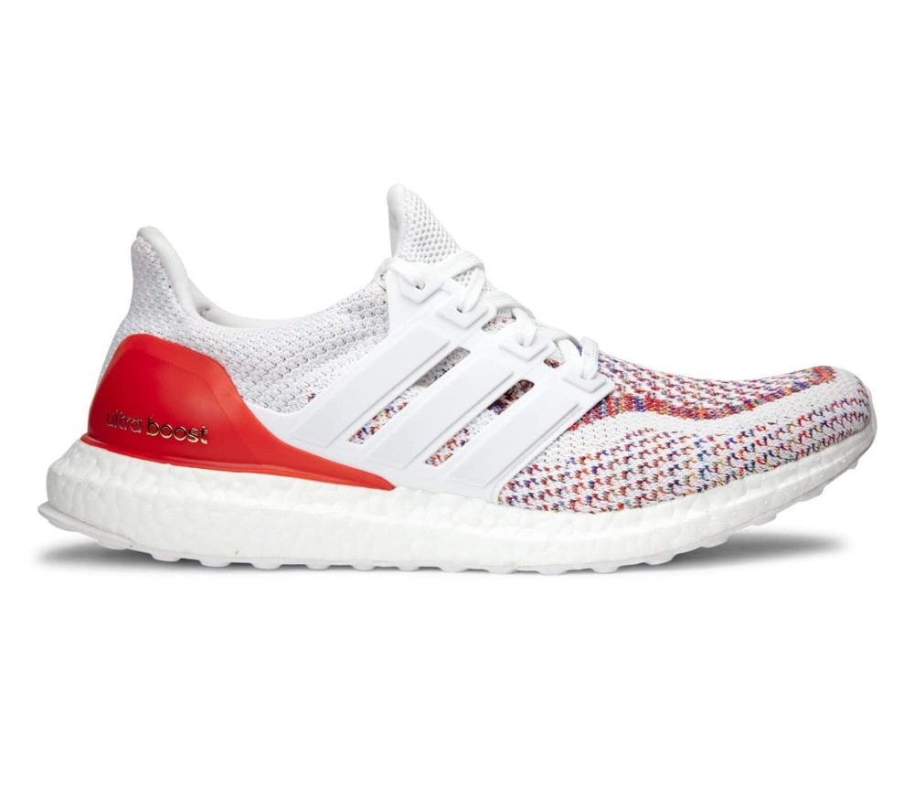 quality design 58f30 58301 Adidas - Ultra Boost chaussures de running pour hommes (blanc rouge)