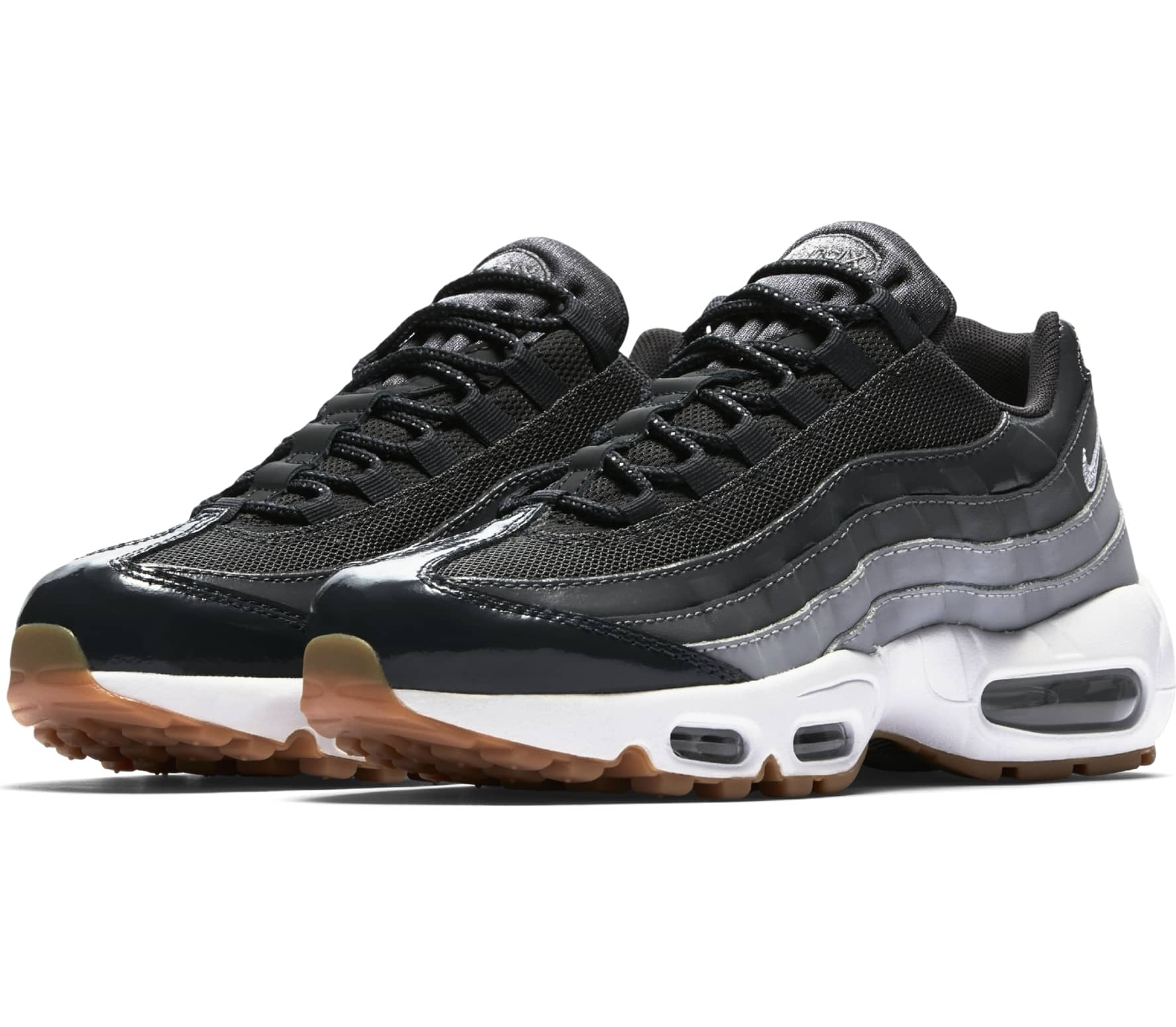 nike air max 95 dames zwart