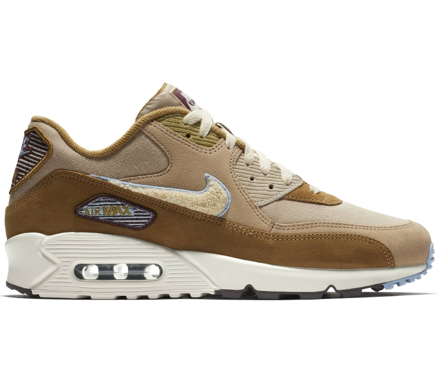 9b3b1eac8943 Nike Sportswear Air Max 90 Premium SE men s trainers (brown) online ...