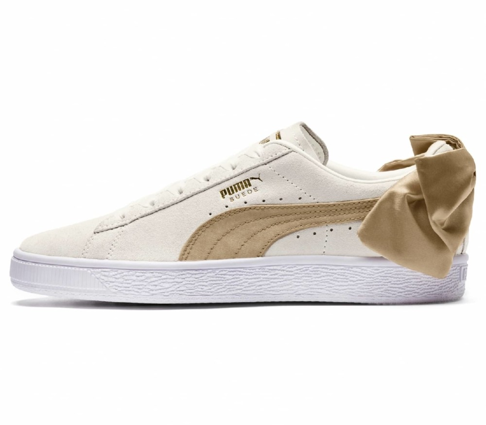 puma sneakers suede bow