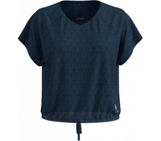 ODLO Cropped Crew-Neck Lou Linencool Donna Top da allenamento