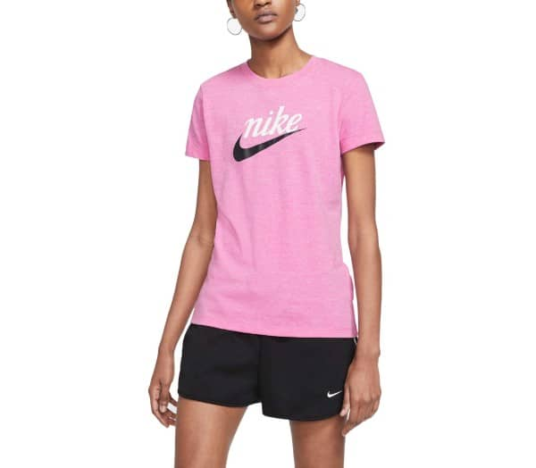 NIKE SPORTSWEAR Red Damen T-Shirt - 1