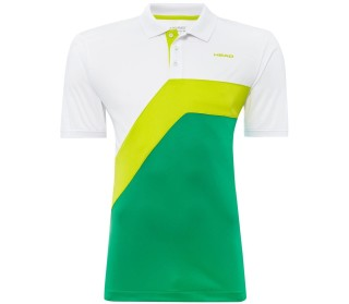 Snap Button Men Tennis Polo Shirt