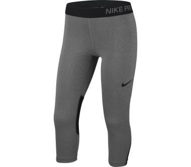 Nike Pro Capris Junior Trainingspant Children silver