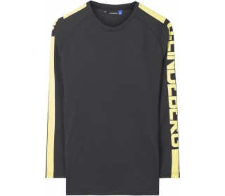 J.Lindeberg Camron Double Mesh Heren Long-sleeve