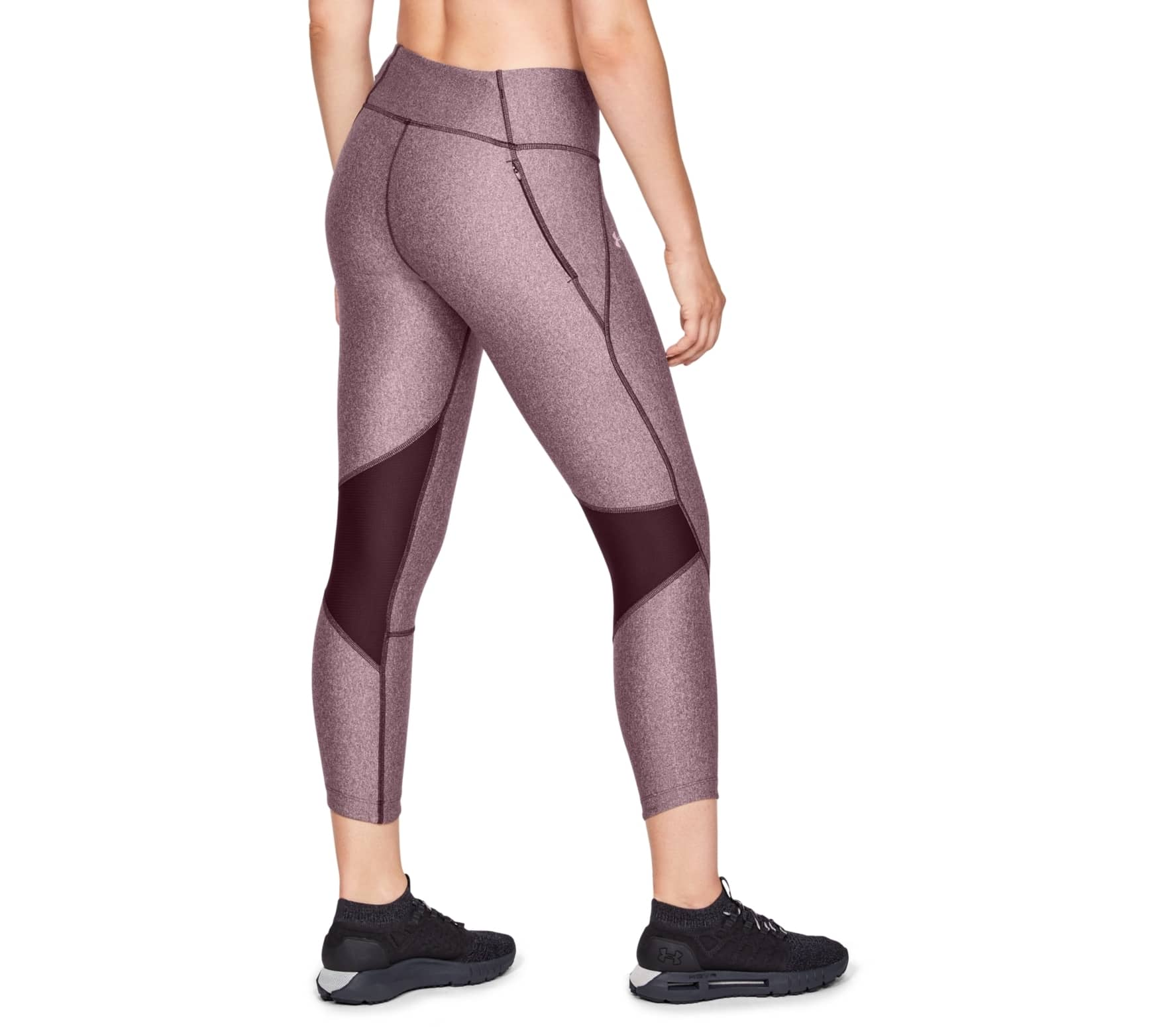 63a1986795d015 Under Armour - Armour Fly Fast women's running capri pants pants (dark red)