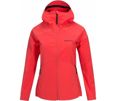 Peak Performance - Adventure Hood women's outdoor jacket (pink)