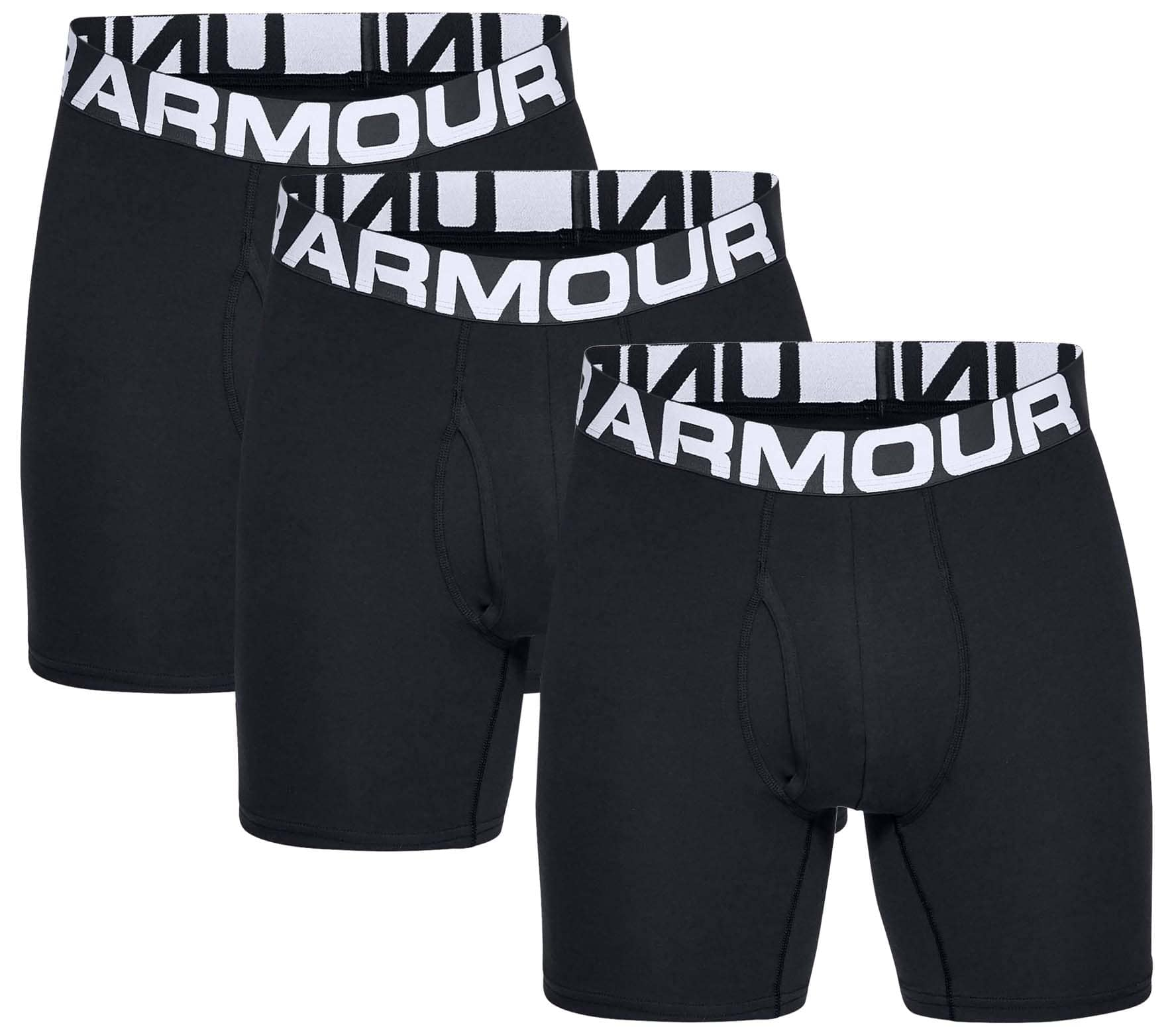 Charged Cotton 6 in 3 Pack Men Boxer Shorts
