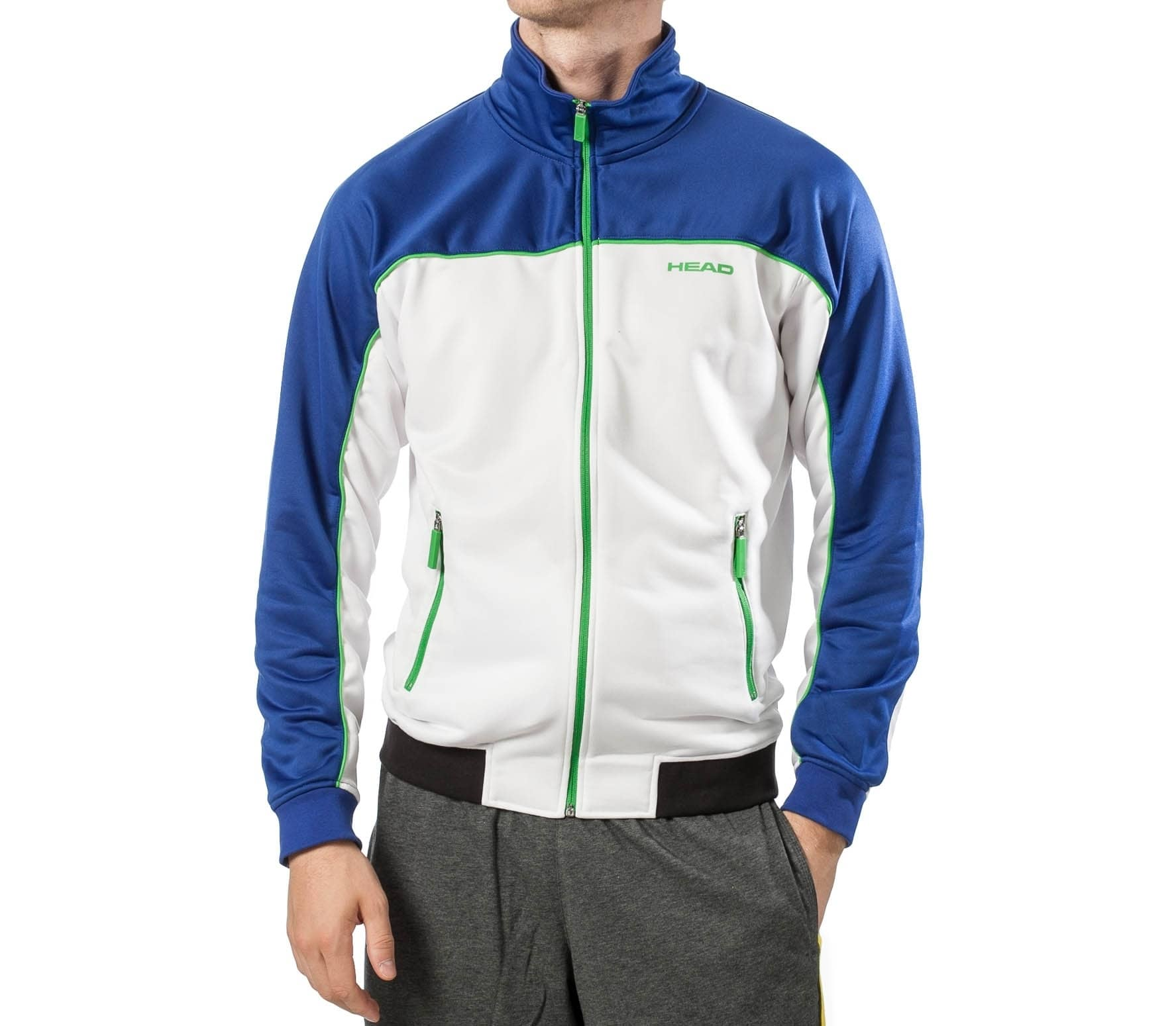 low cost faa20 0d7c4 Head - giacca sportiva Uomo Frequency Warm-Up Jacket